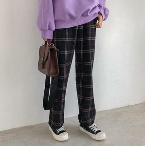 PLAID CHECKERED TROUSER - DIFTAS - Do It For The Aesthetics