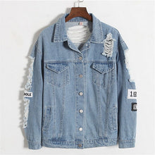 Load image into Gallery viewer, WHERE IS MY MIND DENIM JACKET - DIFTAS - Do It For The Aesthetics