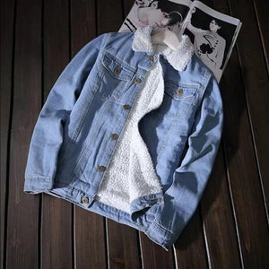 FUR DENIM JACKET - DIFTAS - Do It For The Aesthetics