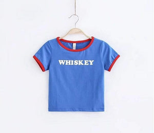 WHISKEY CROP TOP - DIFTAS - Do It For The Aesthetics