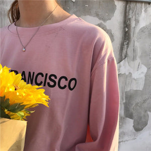 SAN FRANCISCO AND YOU FULL-SLEEVES TEE - DIFTAS - Do It For The Aesthetics