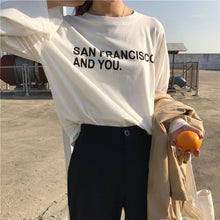 Load image into Gallery viewer, SAN FRANCISCO AND YOU FULL-SLEEVES TEE - DIFTAS - Do It For The Aesthetics
