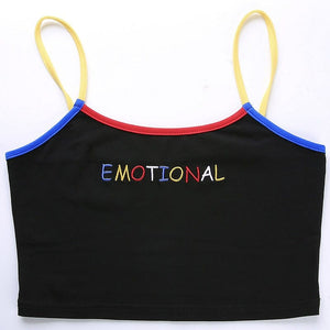 EMOTIONAL TANK TOP - Diftas