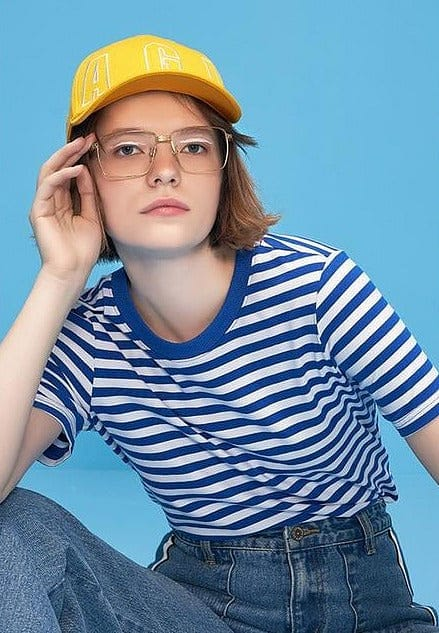 KAWAII COLORFUL STRIPED T-SHIRTS - DIFTAS - Do It For The Aesthetics