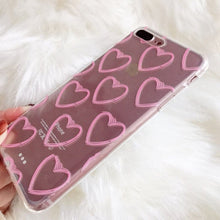 Load image into Gallery viewer, PINK HEART PHONE CASE - DIFTAS - Do It For The Aesthetics