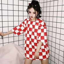 Load image into Gallery viewer, CHECKERBOARD T-SHIRT - DIFTAS - Do It For The Aesthetics