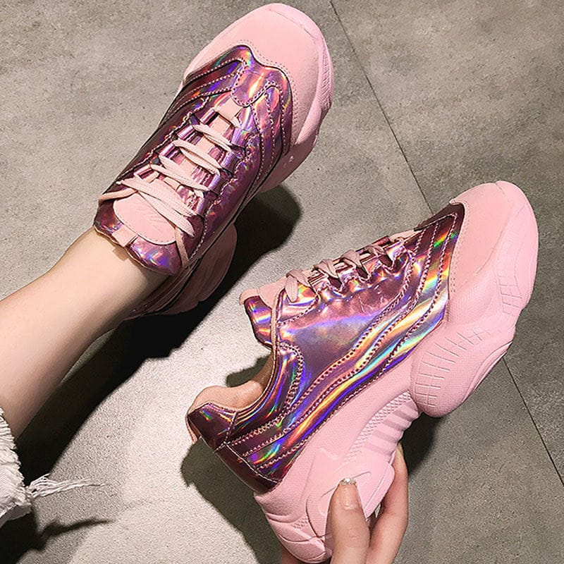 HARAJUKU CHUNKY SHOES(pink) - DIFTAS - Do It For The Aesthetics