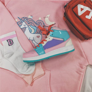 HIP HOP KAWAII SHOES - DIFTAS - Do It For The Aesthetics