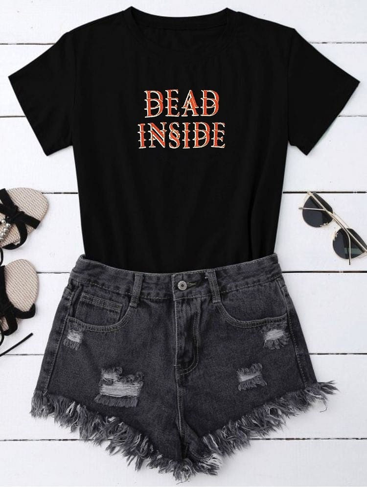 DEAD INSIDE T-SHIRT - DIFTAS - Do It For The Aesthetics