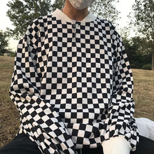 Load image into Gallery viewer, CHECKERBOARD SWEATSHIRT - DIFTAS - Do It For The Aesthetics