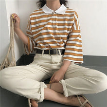 Load image into Gallery viewer, VINTAGE STRIPED T-SHIRT - DIFTAS - Do It For The Aesthetics