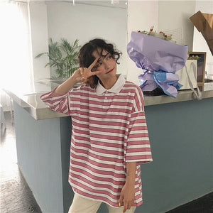 VINTAGE STRIPED T-SHIRT - DIFTAS - Do It For The Aesthetics
