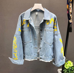 DENIM TUMBLR JACKET - DIFTAS - Do It For The Aesthetics