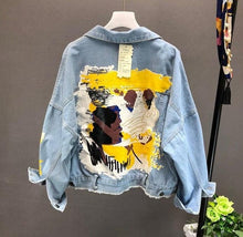 Load image into Gallery viewer, DENIM TUMBLR JACKET - DIFTAS - Do It For The Aesthetics