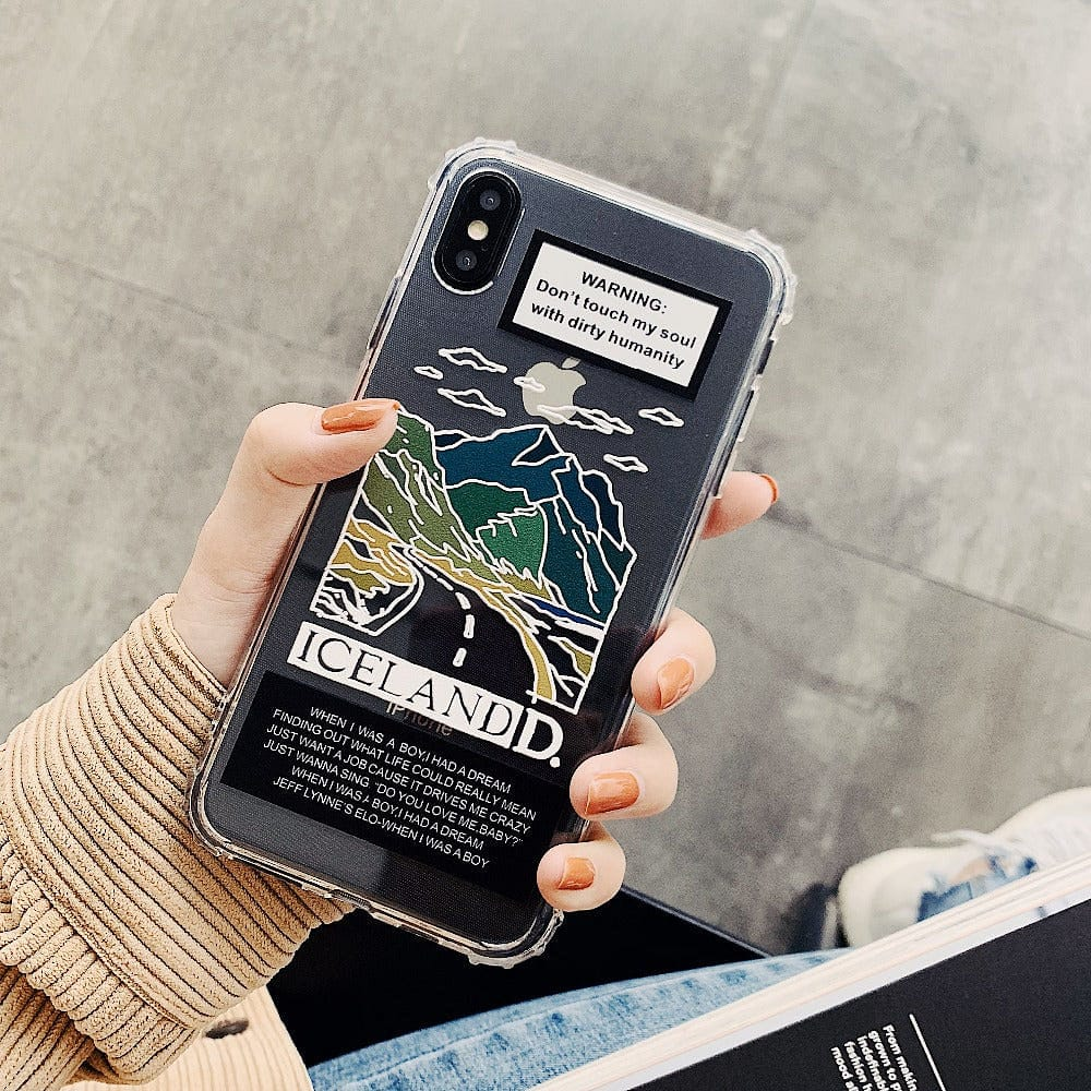 WARNING PHONE CASE - DIFTAS - Do It For The Aesthetics