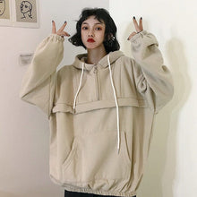 Load image into Gallery viewer, OVERSIZE PLAIN HOODIE - DIFTAS - Do It For The Aesthetics