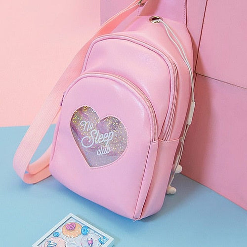 KAWAII HEART BAGPACK - DIFTAS - Do It For The Aesthetics