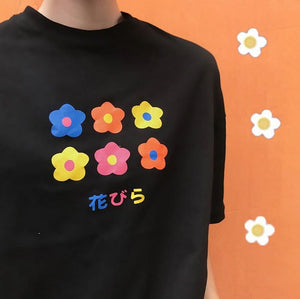 FLOWERS T-SHIRT - DIFTAS - Do It For The Aesthetics