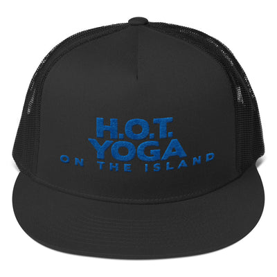 Hot Yoga On The Island-Trucker Cap