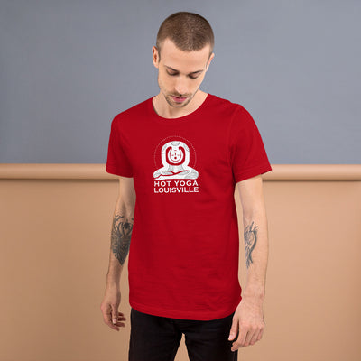 Hot Yoga Louisville Short-Sleeve Men's T-Shirt