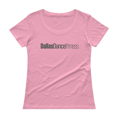 Dallas Dance Fitness Ladies' Scoopneck T-Shirt