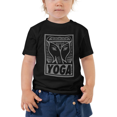 Yoga Stamp Toddler Tee