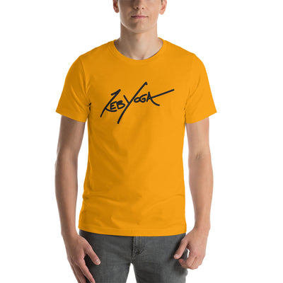 Zeb Yoga Signature-Short-Sleeve Unisex T-Shirt