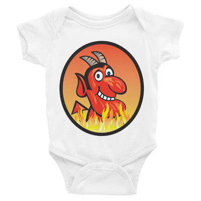 Yoga Hell-Infant Bodysuit