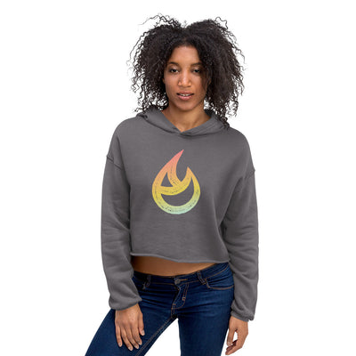 The Hot Room-Crop Hoodie