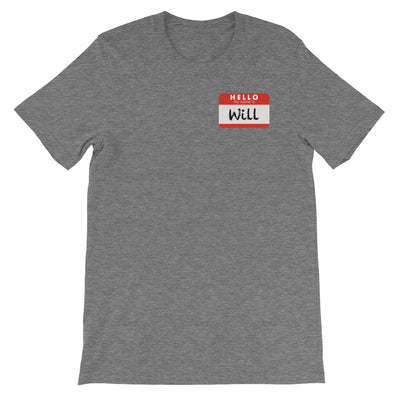 HELLO WILL-Short-Sleeve Unisex T-Shirt