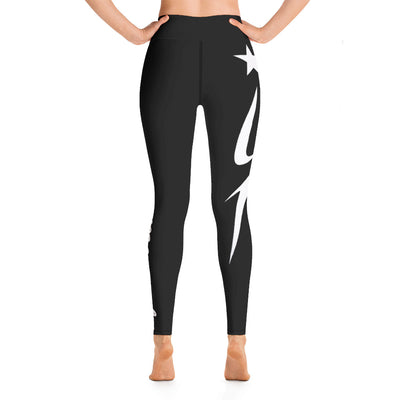 Inferno Hot Pilates Leggings Dark