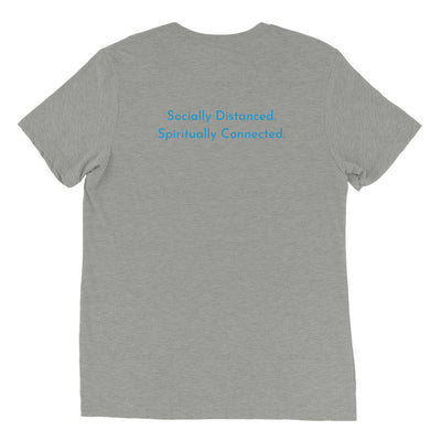 bodē nyc Socially DIstanced. Spiritually Connected Short sleeve t-shirt