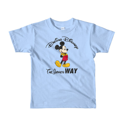 Jones' Disney Short sleeve kids t-shirt