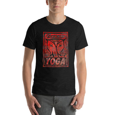 YOGA-STAMP-OB-street-2c Short-Sleeve Unisex T-Shirt