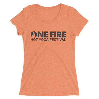 ONE FIRE-Ladies' short sleeve t-shirt