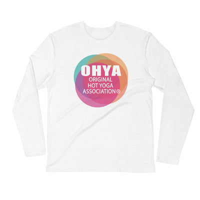 OHYA-Long Sleeve Fitted Crew