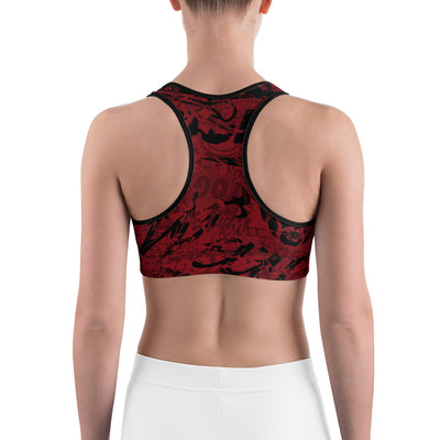 WAY decay Sports bra RED1