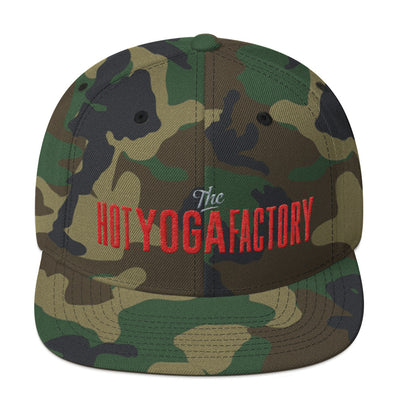 The Hot Yoga Factory Snapback Hat