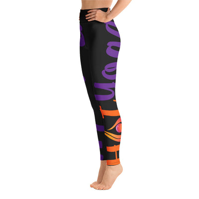 Purely Hot Yoga-Leggings Side Leg