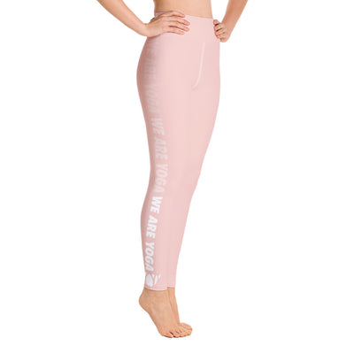 WAY Up Pink Salt Yoga Leggings