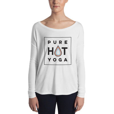 Pure Hot Yoga St. Louis-Ladies' Long Sleeve Tee