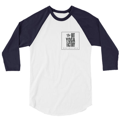The Hot Yoga Factory-3/4 sleeve raglan shirt