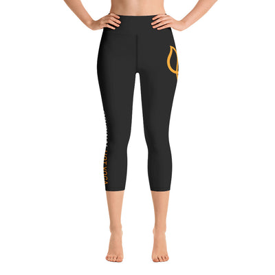 Original Hot Yoga Traverse City-Hip Logo Capri Leggings