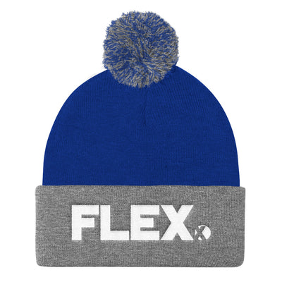 Flex City Pom Pom Knit Cap