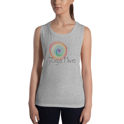 The Yoga Hive Ladies' Muscle Tank