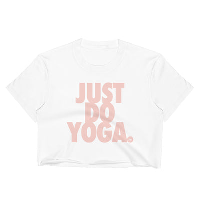 Just Do Yoga-Women's Crop Top
