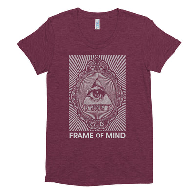 FOM EYE-Women's Crew Neck T-shirt