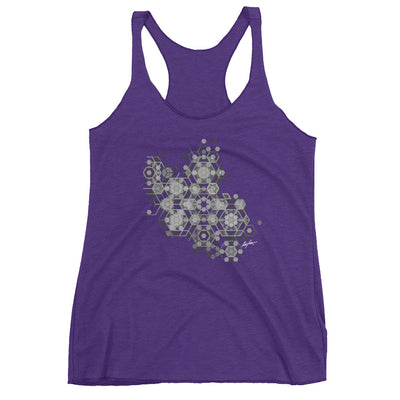 Zeb Yoga Tattoo-Women's Racerback Tank
