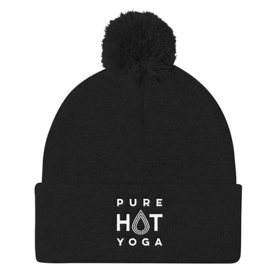 Pure Hot Yoga St. Louis-Pom Pom Knit Cap