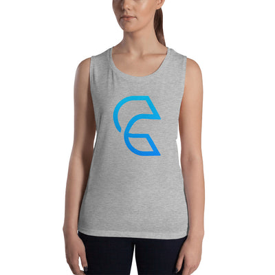 Clear-Ladies' Muscle Tank